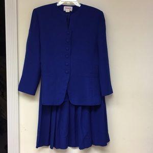Vintage Henry Lee 2 pc Skirt Set Size 14P